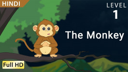 The Monkey : Learn Hindi  Story for Children