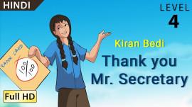 Kiran Bedi: Thank you Mr. Secretary hindi