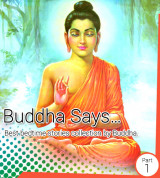 Buddha Says... - Path to Happiness   by Hiren Kavad in English