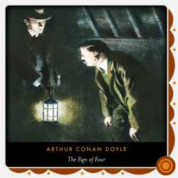 The sign of the four by Arthur Conan Doyle in English