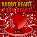 ABOUT HEART, FROM HEART by Heli Vora in English