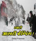 हमारी आख़री कैम्पिंग ! बुक zeba praveen द्वारा प्रकाशित हिंदी में