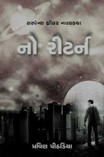 No Return full book by Praveen Pithadiya in Gujarati