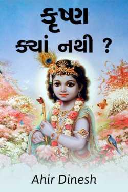 Krushn kya nathi ? by Ahir Dinesh in Gujarati