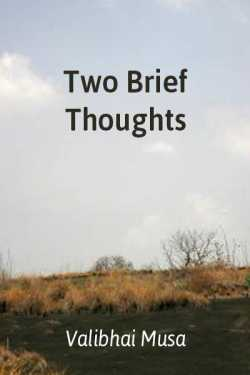 Two Brief Thoughts by Valibhai Musa in English