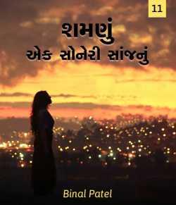 Shamnu ek soneri saanjnu - 11 by BINAL PATEL in Gujarati