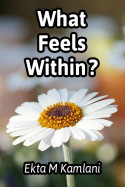 What feels within? by Ekta M Kamlani in English