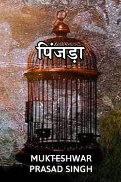 Cage by Mukteshwar Prasad Singh in Hindi
