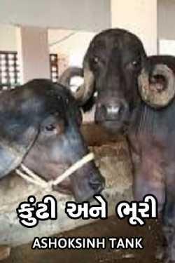 Kundhi ane Bhuri by Ashoksinh Tank in Gujarati