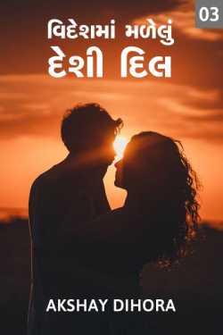 Videshma Malelu Desi Dil - Part - 3 by Akshay Dihora in Gujarati