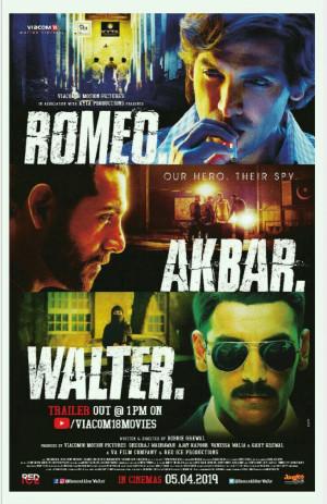 'रोमियो अकबर वॉल्टर' फिल्म रिव्यूः ढीलीढाली थ्रिलर बुक Mayur Patel द्वारा प्रकाशित हिंदी में