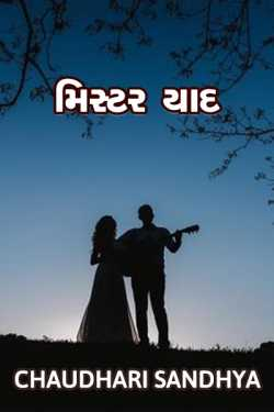 મિસ્ટર યાદ  by Chaudhari sandhya in Gujarati