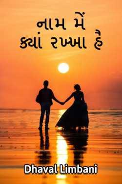 naam me kya rakkha hai - 1 by Dhaval Limbani in Gujarati
