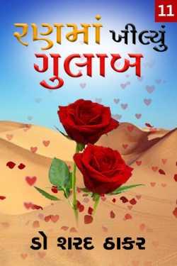 Ran Ma khilyu Gulab - 11 by Dr Sharad Thaker in Gujarati