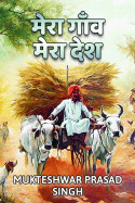 My village My country by Mukteshwar Prasad Singh in Hindi
