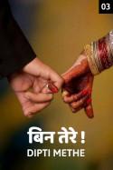 बिन तेरे...!  भाग 3 बुक Dipti Methe द्वारा प्रकाशित हिंदी में