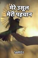 Mere usul, meri pahchan by Saroj Prajapati in Hindi