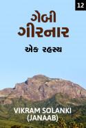 VIKRAM SOLANKI JANAAB દ્વારા ગેબી ગીરનાર - એક રહસ્ય - (ભાગ-૧૨) ગુજરાતીમાં