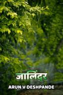 Jaalindar by Arun V Deshpande in Marathi