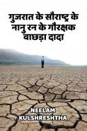 गुजरात के सौराष्ट्र के नानु रन के गौरक्षक वाछड़ा दादा बुक Neelam Kulshreshtha द्वारा प्रकाशित हिंदी में