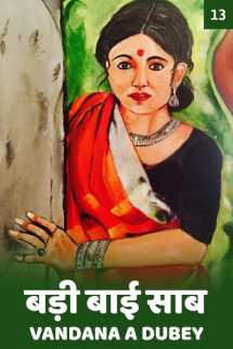 बड़ी बाई साब - 13 बुक vandana A dubey द्वारा प्रकाशित हिंदी में