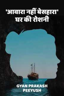 'आवारा नहीं बेसहारा', घर की रोशनी बुक Gyan Prakash Peeyush द्वारा प्रकाशित हिंदी में