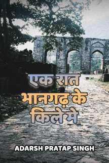 एक रात भानगढ़ के किले मे बुक adarsh pratap singh द्वारा प्रकाशित हिंदी में