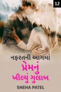 Sneha Patel દ્વારા નફરતની આગ માં પ્રેમ નું ખીલ્યું ગુલાબ - ૧૨ ગુજરાતીમાં