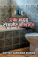 एक अदद टॉयलेट बाथरूम बुक Satish Sardana Kumar द्वारा प्रकाशित हिंदी में