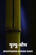मृत्यु-बोध बुक Bhupendra Kumar Dave द्वारा प्रकाशित हिंदी में