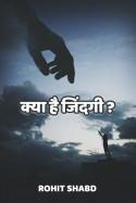 क्या है जिंदगी - 1 बुक Rohit Shabd द्वारा प्रकाशित हिंदी में
