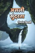 असली सुंदरता. बुक निशांत त्रिपाठी द्वारा प्रकाशित हिंदी में