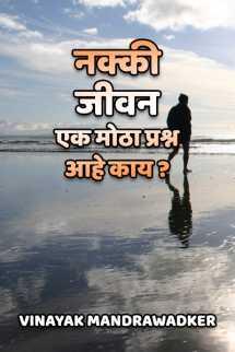 नक्की जीवन एक मोठा प्रश्न आहे काय ? मराठीत vinayak mandrawadker