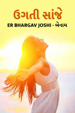 rising noon by Er Bhargav Joshi in Gujarati