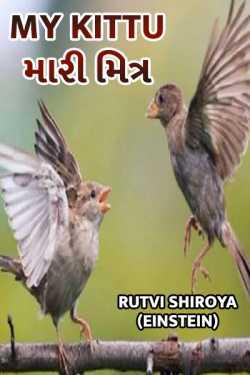 my kittu.. by RUTVI SHIROYA ..... Einstein.. in Gujarati
