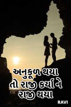 anukud thaya to raji karya ne raji thaya by Ravi in Gujarati