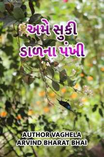 Author Vaghela Arvind Bharat Bhai દ્વારા અમે સુકી ડાળ ના પંખી ગુજરાતીમાં