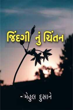 Jindagi nu chintan by Mehul Dusane in Gujarati