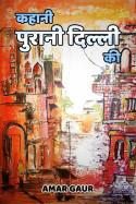 कहानी पुरानी दिल्ली की by Amar Gaur in Hindi