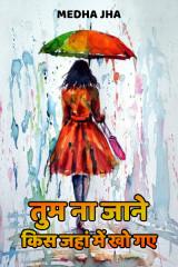तुम ना जाने किस जहां में खो गए.....  द्वारा  Medha Jha in Hindi