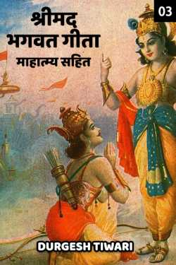 Shree maddgvatgeeta mahatmay sahit - 3 by Durgesh Tiwari in Hindi
