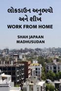 લોક ડાઉન અનુભવો અને શીખ - Work from Home by Shah Japaan Madhusudan in Gujarati