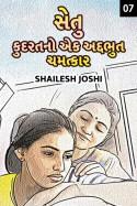 Shailesh Joshi દ્વારા સેતુ - કુદરત નો એક અદ્દભુત ચમત્કાર - 7 ગુજરાતીમાં