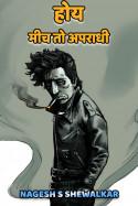 होय, मीच तो अपराधी - 1 by Nagesh S Shewalkar in Marathi