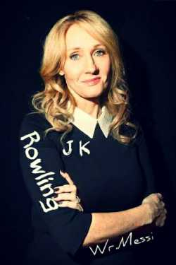 J K Rowling by Wr.MESSI in Hindi