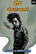 होय, मीच तो अपराधी - 3 by Nagesh S Shewalkar in Marathi