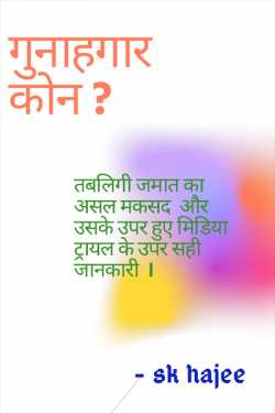 Who Guilty ? - 1 by sk hajee in Hindi