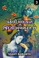 પહેલી મુલાકાત. - જિંદગી ખૂબસૂરત છે. - 3 by Shanti bamaniya in Gujarati