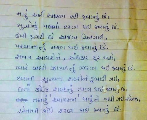 Post by Divyaprakash Patel on 06-May-2019 01:32am