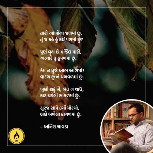 Gujarati Poem status by Anil Chavda on 28-May-2019 09:08am | Matrubharti